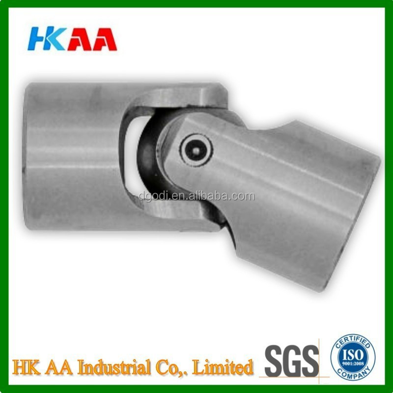 Custom machining service simple cardan joint, Simple universal cardan joints with pins