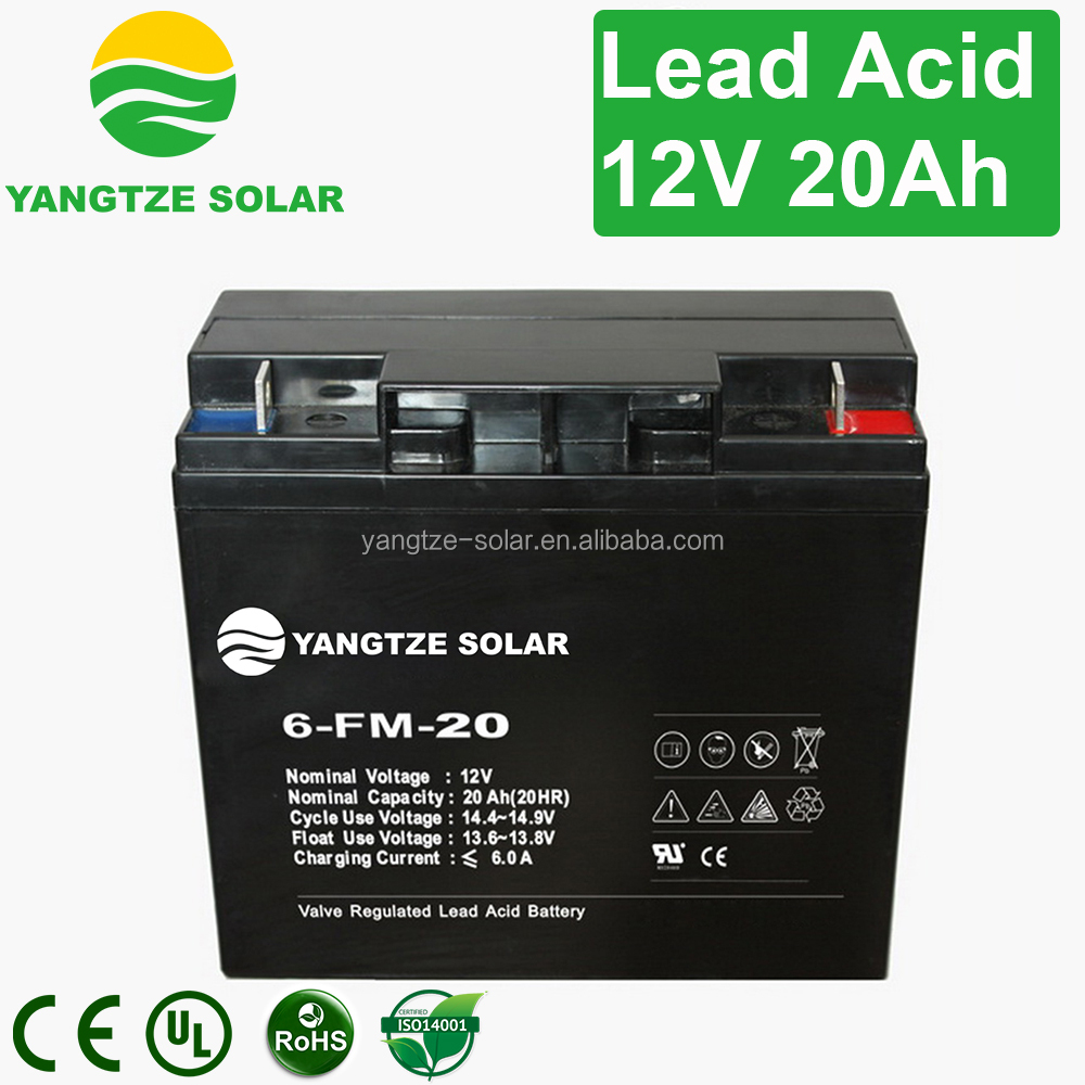 Hot sale gel small battery 12v 20a dry battery