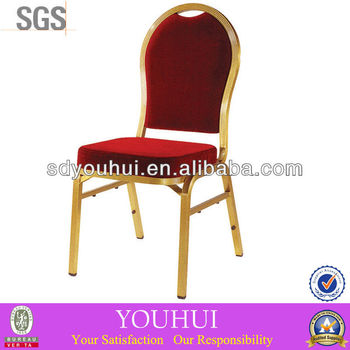 Golden banquet chair YH-L8186