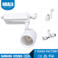 40w round cree parts ceiling cob led track light with remote control