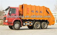 HOWO 6x4/4x2 Compressed garbage truck