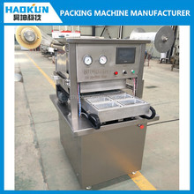new condition high quality MAP tray sealer vacuum packing machine with gas filling
