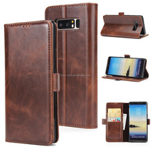 For Samsung Galaxy Note 8 Wallet Leather Case With Card Holder Kickstand Flip Cover Amazon eBay Supplier