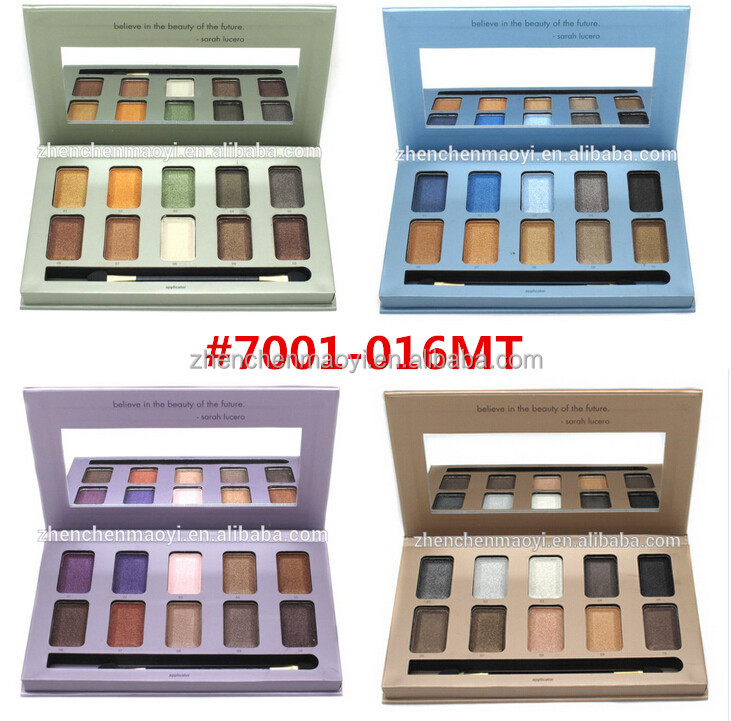 New arrival! 10color vinatage eyeshadow palette 8 color type for choice