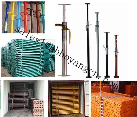 department building aluminum formwork beam concrete formwork aluminum beams