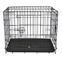 Fiberglass commercial dog cage for car breeding cages for dogs MHD002
