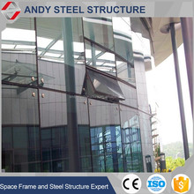 Glass curtain wall restaurant outdoor decoration