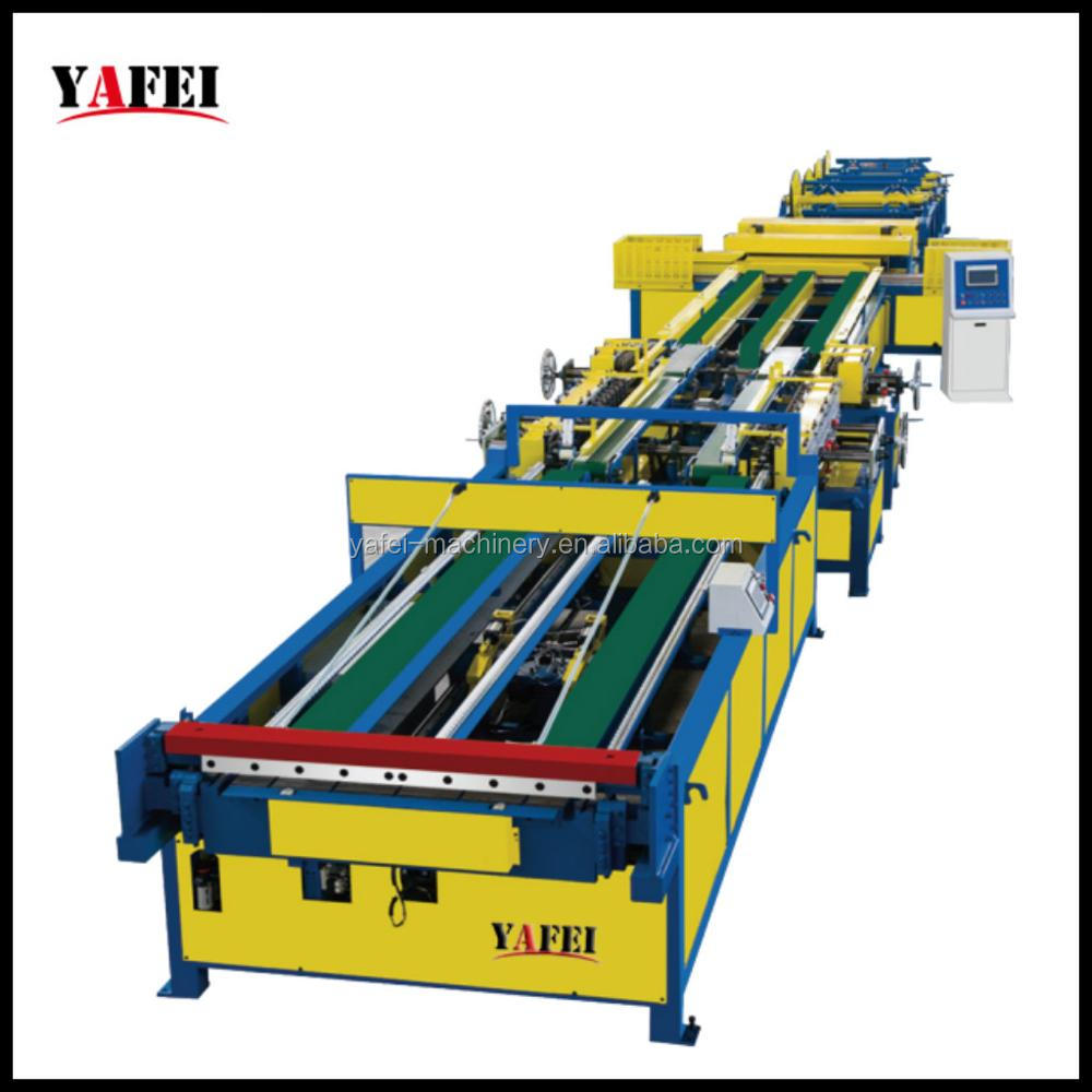 Square Ventilatoin Auto Duct Pipe Tube Producion Manufacturing Line V
