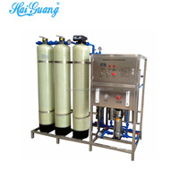 RO mineral water purification facility edi distilled water unit