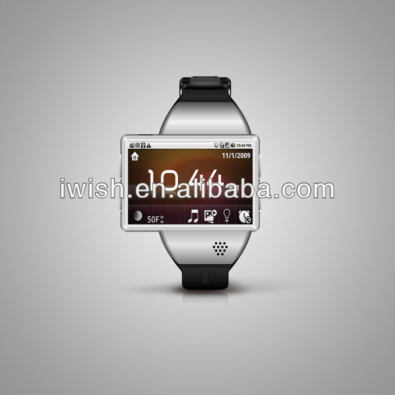 Z1 Android 2.2 OS smart Android watch phone with bluetooth ,GPS wifi