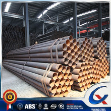 China suppliers round erw ultra sonic welded steel tube