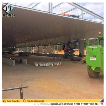 Low Cost Poultry Control Shed Steel Structure Chicken House