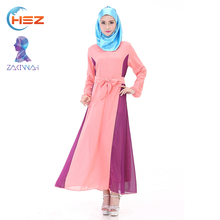 Zakiyyah 801002 Small Quantity Clothing Manufacturer Prayer Dress Baju Kurung Peplum