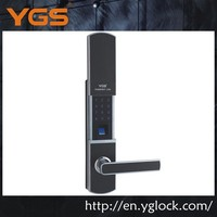 YGS8852 new product high security residential digital touch screen door lock