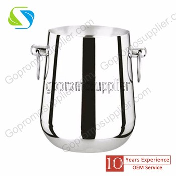 double walls stainless steel wine bucket