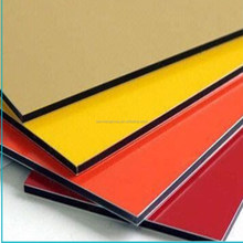 high quality aluminum composite panel acp work designs corrugated wall cladding sheets with