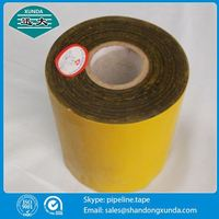white color asphalt based waterproof tape for pipe wrapping
