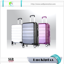 hot sale abs travel trolley hard suitcase , 3 pcs travel suitcase luggage set