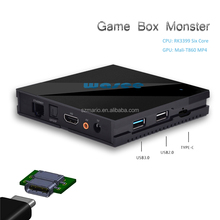 Game box Monster Mali 860 GPU RK3399 Six core Smart Android tv box