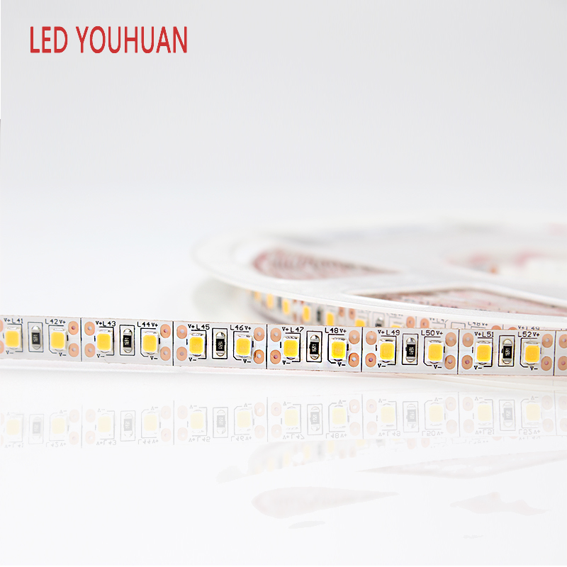 YOUHUAN Patent 120 <strong>Leds</strong>/M Waterproof flexible <strong>led</strong> strip light for outdoor/indoor decoration