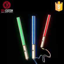 Mini LED Flash Light Stick Key Chain Lightsaber Keychain