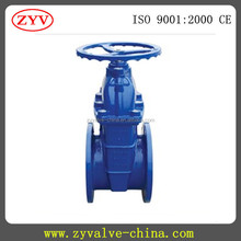 long stem telescopic resilient seated gate valve DN40-DN400