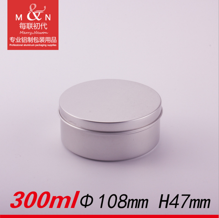 14oz 400g/ml aluminum tin cans for candy,candy metal box /empty round packaging tin /empty gift tins -108*47(h)mm