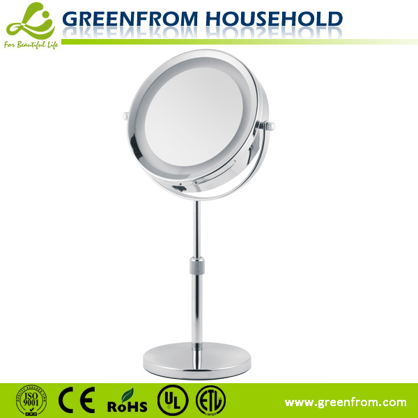 7 inch Illuminated On Stand Magnifying Mirror