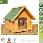 Cheap wooden outback cabin dog house pet shelter