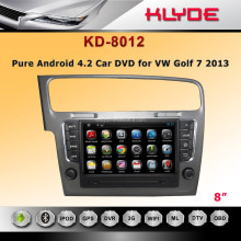 android Car DVD GPS Navigation radio bluetooth 3G USB SD 1080P disc for golf 7