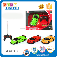 4CH radio control car toys with light and charger for boys and girls