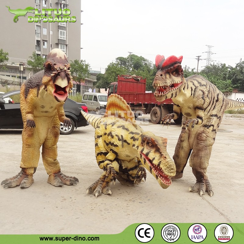 Children Entertainment Park Simulation Dinosaur Mascot Costume