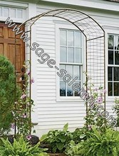 Decorative Wrought Iron Garden Arbor
