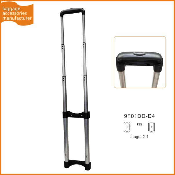 Guangzhou JingXiang Folding Trolley Pull Handle Detachable Case Handle For Soft Luggage Trolley