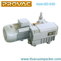 electric single stage rotary vane vacuum pump