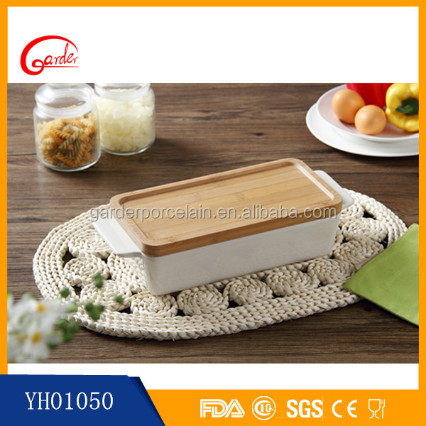 Hot sale high temperature Refractory Ceramic Baking pizza plate