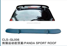GL006 ABS car rear roof spoiler for panda sport