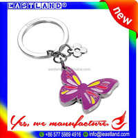 High Quality Promotion Custom Multi Ring Keychain
