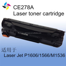 Laser printer toner cartridge ce278a/ laser toner for hp 78a toner cartridges/ cheap toner cartridges for hp 278a