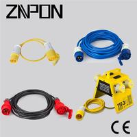 CEE 4 pin 380V extension cord manufacturers