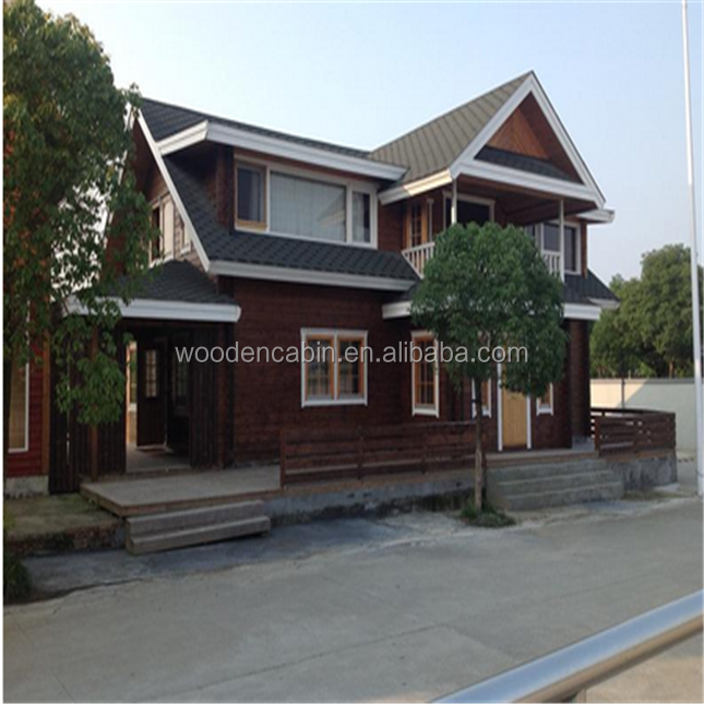 Log cabin design prefab house,prefabricated house cabin,low cost wooden house