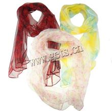 mixed colors silk scarf