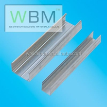 galvanized drywall partition for wall with gypsum
