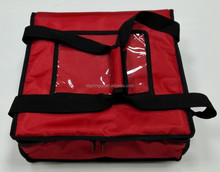 New design insulated thermal heat food pizza delivery bag