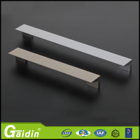 Customer tailored welcome aluminum razor blade furniture cabinet door drawer pull handle