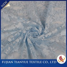 High Quality Popular Knitted Jacquard Voile Curtain Lace Fabrics Blind