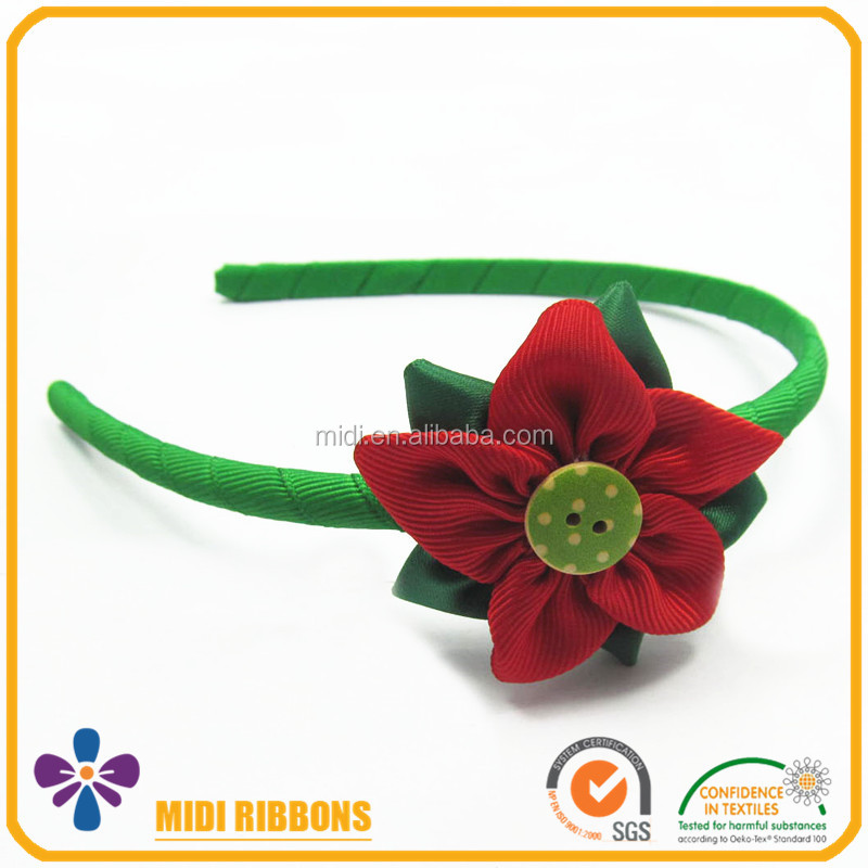 High Quality Large Ribbon Bow Headband For Girls