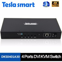 High Quality 4 Port DVI KVM