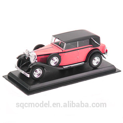 High quality machine grade vintage metal modeling toy car with CE certificate