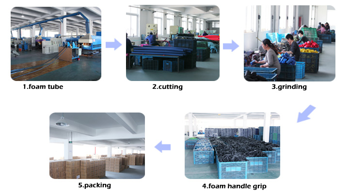 Wholesale new products rubber foam grip, foam tube